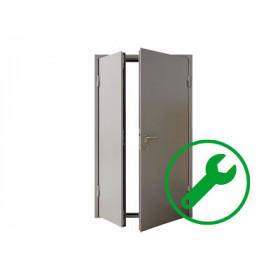 Ремонт входных металлических дверей